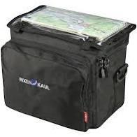 Lenkertasche Daypack Box schwarz 8l mit Adapter