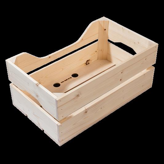 Racktime Woodpacker Holzkiste 25L