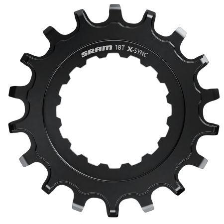 Kettenblatt EX1 X-Sync 18Z Stahl Ritzel für Bosch Motor