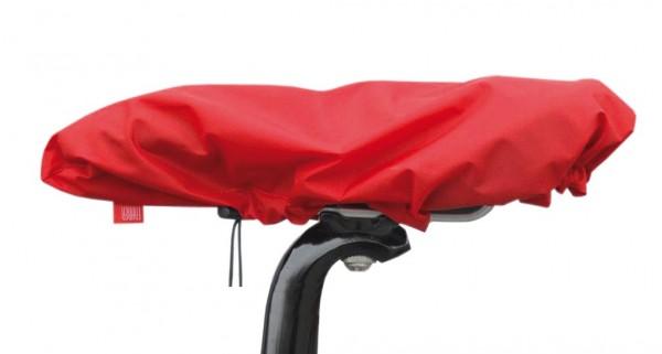 Sattelüberzug Wasserdicht aus Nylon rot