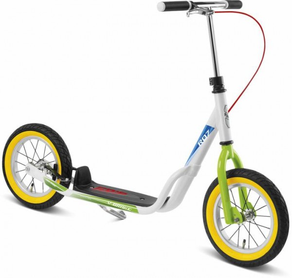 Puky Air-Scooter mit Luft-Bereifung weiss/kiwi