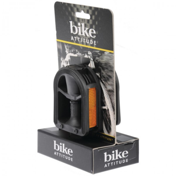 "Bike Attitude Kinder Pedale LU-873 1/2"" schwarz"