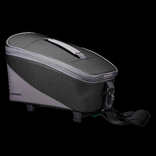 Gepäckträgertasche Talis Carbon Black