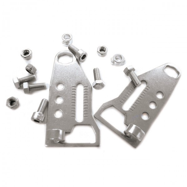 Pletscher Strebenendplatten zu Quick-Rack verstellbar