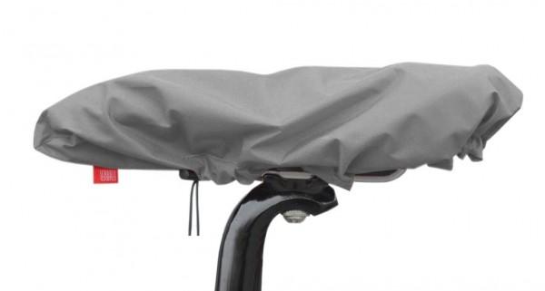 Sattelüberzug Wasserdicht aus Nylon grau