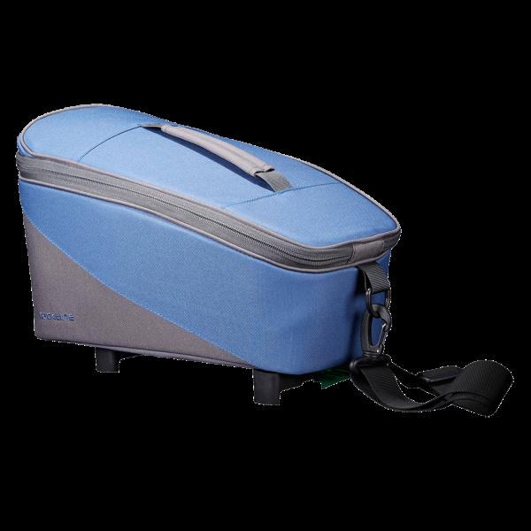 Gepäckträgertasche Talis Berry Blau